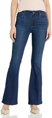 Paige Women's Petite Bell Canyon High Rise Flare Jean