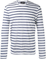 DSQUARED2 Breton striped top - men - Linen/Flax - M