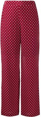 MICHAEL Michael Kors Geometric-Print Trousers