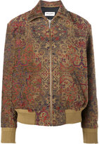 Saint Laurent Marrakech teddy jacket - women - Silk/Cotton/Polyester/Wool - 36