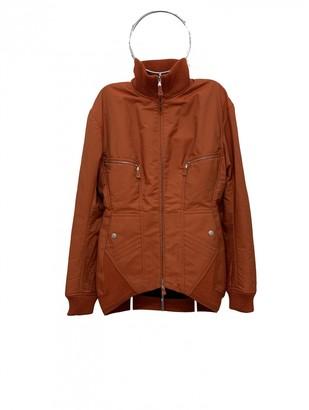 Jean Paul Gaultier Orange Leather Jacket for Women