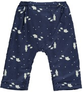 Nice Things Jersey Lined Polar Bear Harem Trousers