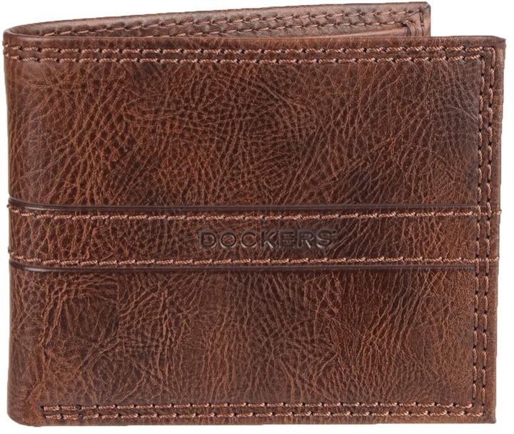 Dockers Men's RFID Slimfold Wallet
