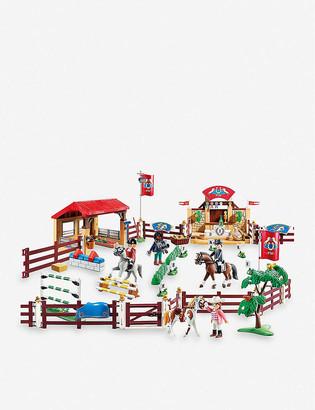 Playmobil Country equestrian tournament set