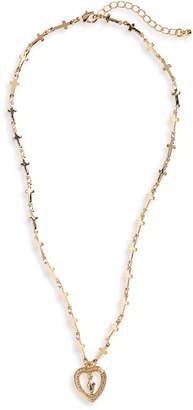 Waverly Jonesy Wood Pendant Necklace