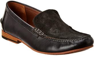 Warfield & Grand Jordan Leather & Suede Loafer
