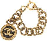 Chanel Vintage bracelet chaîne à méda