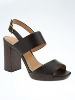 Banana Republic Block Heel Sandal