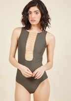 ModCloth Genoa Goddess One-Piece Swimsuit in S