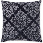 Southern Living Diamond Medallion Velvet Square Pillow
