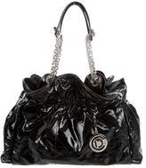 Christian Dior Le Trente Patent Leather Cannage Shoulder Bag