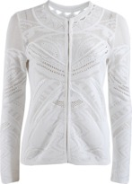 Roberto Cavalli Lace and Crochet Cardigan
