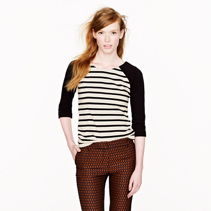 J.Crew Raglan sailor top