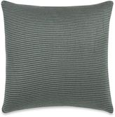 Kenneth Cole New York Escape Striped Square Throw Pillow in Celadon