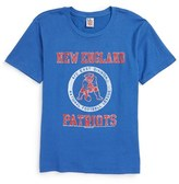 Junk Food Clothing Boy's Kick Off New England Patriots T-Shirt