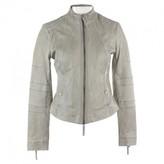 BOSS Green Leather Jacket for Women