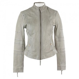 BOSS Green Leather Jacket for Women