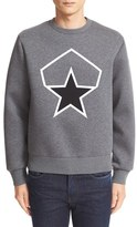 Moncler Men's Graphic Neoprene Sweatshirt