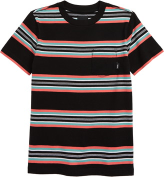 Vans Emory Stripe Pocket T-Shirt