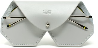 Neon Hope Sunglasses Case - Grey