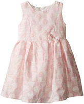 Us Angels Sleeveless Empire Poly Jacquard with a Full Skirt Dress (Toddler)