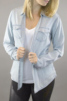 Dex Long Sleeves Chambray Blouse