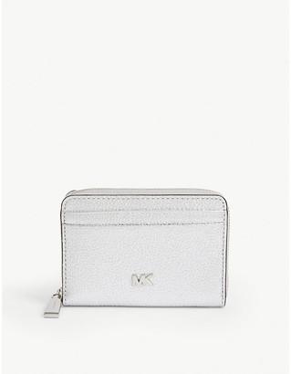 MICHAEL Michael Kors Mott logo leather coin purse