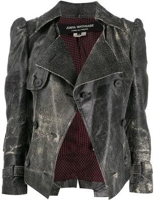 Junya Watanabe Comme Des Garçons Pre Owned 2000s Distressed Jacket