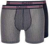Sloggi Sports 2pack Shorts Blau
