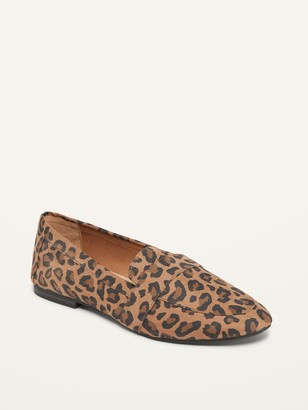 Old Navy Faux-Suede Moccasin Loafers for Women