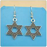 Nobrand No brand Simple Vintage 28*20mm Star Charm Dangle Earring, Charming Drop Earring