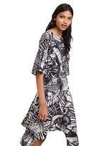 Desigual womens DRESS MARIAN Knee-Length 3/4 Sleeve Dress,10 (Manufacturer Size: )