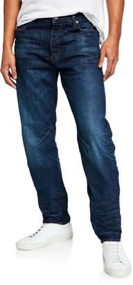 G Star Men's Arc Relaxed-Fit Tapered Higo Denim Jeans
