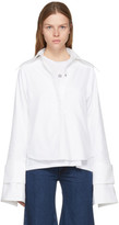 Marques Almeida White Double Sleeve Shirt