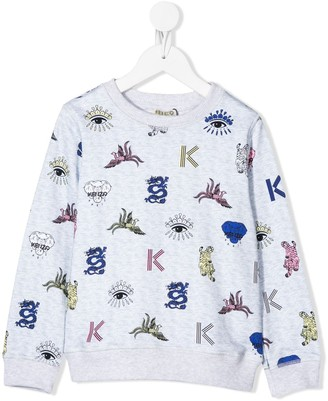 Kenzo Kids Multi-Icon Sweatshirt