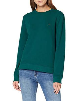 Tommy Hilfiger Women's Crew Neck Sweatshirt,Large