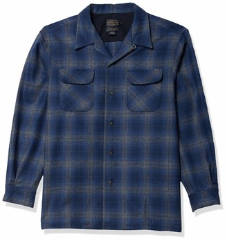 Pendleton Men's Size Long Sleeve Classic Fit Board Wool Shirt