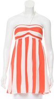 Alice + Olivia Striped Halter Top
