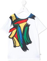 Stella McCartney paint stroke print T-shirt - kids - Cotton - 2 yrs