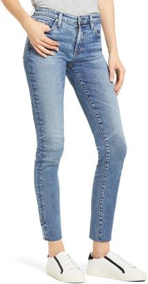 AG Jeans The Prima Raw Hem Ankle Skinny Jeans