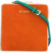 Balmain Box crossbody bag