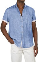 Report Collection Yarn-Dyed Linen Shirt - Short Sleeve (For Men)