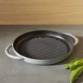 Crate & Barrel Staub ® Graphite Grey Round Pure Grill