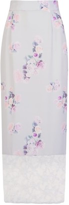 Sophie Cameron Davies Rose Silk Maxi Skirt