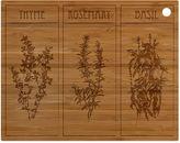Totally Bamboo Herb Cut N Serve Board