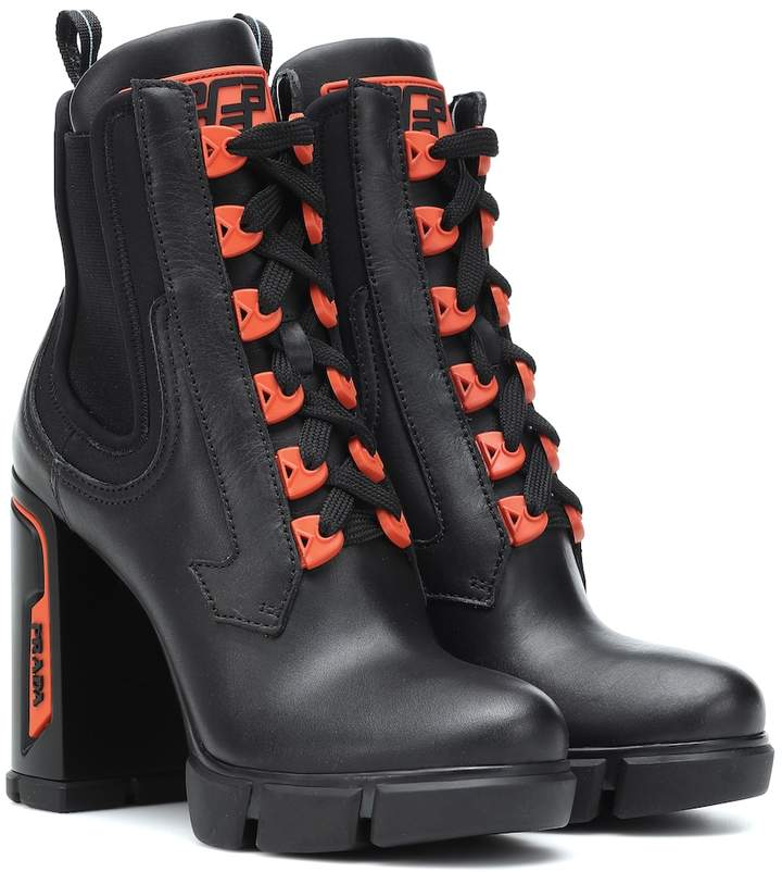 86d99ca251 Leather ankle boots