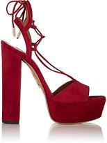 Aquazzura Women's Austin Plateau Platform Sandals-RED