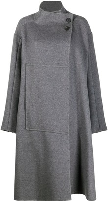 3.1 Phillip Lim Wrap Blanket Coat