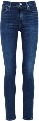 Citizens of Humanity Rocket dark blue skinny jeans