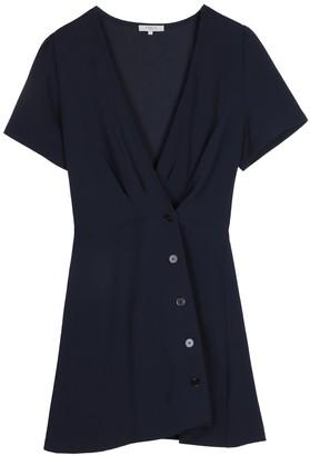 FRNCH Surplice Neck Short Sleeve Dress